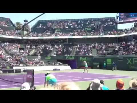 Maria sharapova vs Sara errani Sony open
