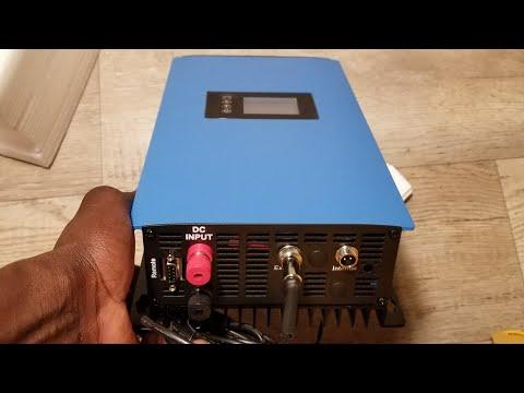 SUN-1000GTIL2-WIFI PLUG-LD GRID TIE POWER INVERTER WITH LIMITER | SUN Series Grid Tie Power Inverter