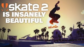 SKATE 2 - The Most Beautiful Skateboarding Game Ever Made?