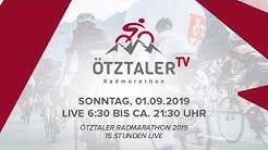 Ötztaler Radmarathon 2019 15 Stunden Live