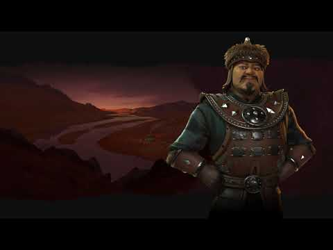 Mongolia Theme - Medieval (Civilization 6 OST) | Pastoral So