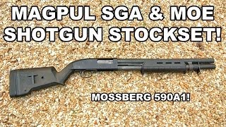 Magpul SGA & MOE Stockset! Upgrade for the 590A1