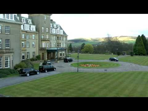 Gleneagles Scotland Time Lapse view from Lovely Room