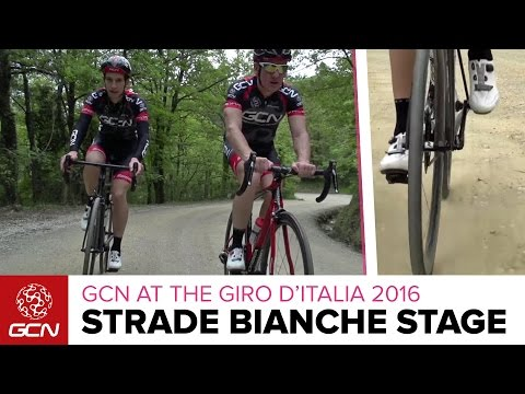 Giro D'Italia Stage 8 Strade Bianche Preview – GCN Rides The