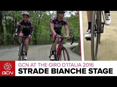 Giro D'Italia Stage 8 Strade Bianche Preview – GCN Rides The Gravel Roads | Giro D'Italia 2016