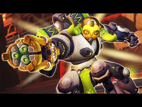 [Overwatch] The GOLDEN Orisa - New Hero