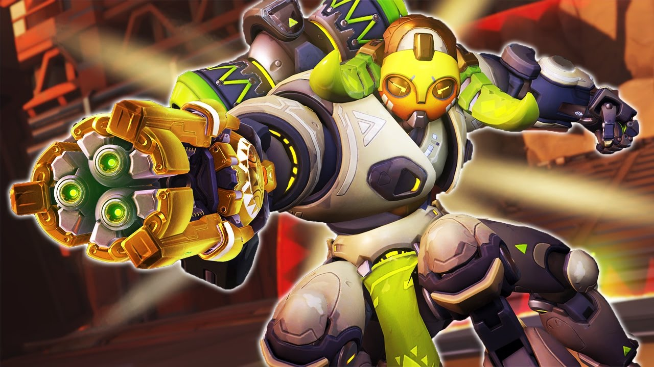 Overwatch The Golden Orisa - New Hero - Youtube-1199