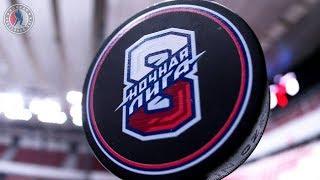 Ночная хоккейная лига в Якутске.