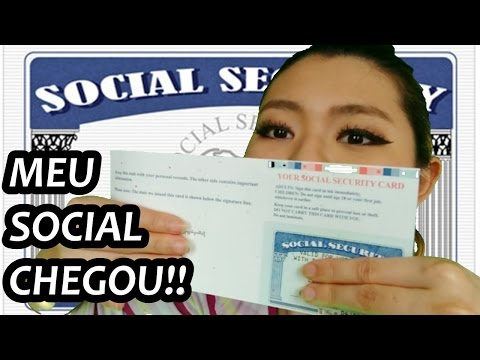 MEU SOCIAL SECURITY NUMBER CHEGOU !! leila nos EUA