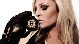The Boston Bruins Ice Girls
