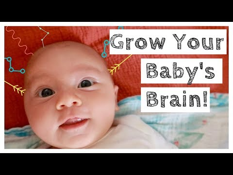 BABY PLAY HOW TO PLAY WITH 0-3 MONTH OLD NEWBORN BRAIN DEVELOPMENT ACTIVITIES
