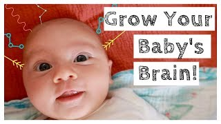 BABY PLAY - HOW TO PLAY WITH 0-3 MONTH OLD NEWBORN - BRAIN DEVELOPMENT ACTIVITIES