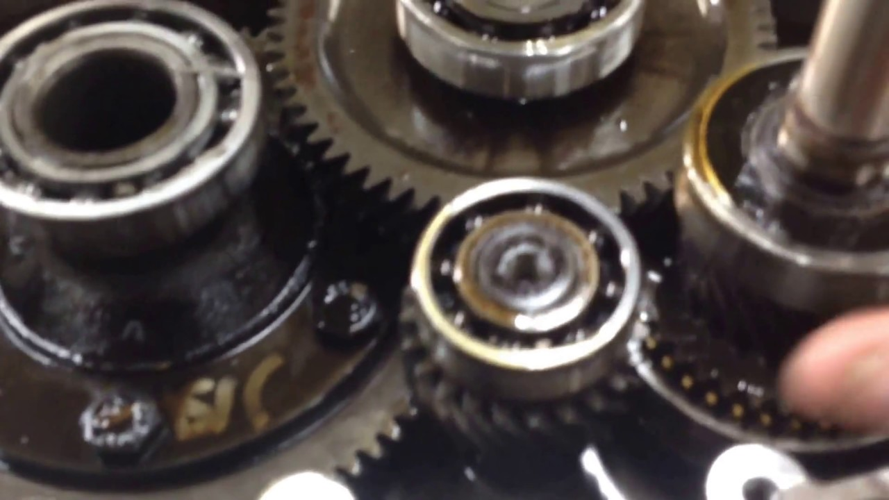 small resolution of club car transmission bearing failure tear down diagnosis