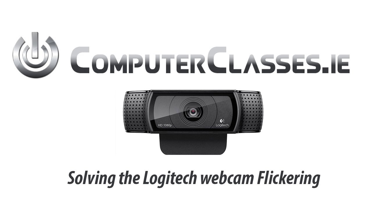 How To Fix Logitech Webcam Flickering Solved Tutorial Youtube