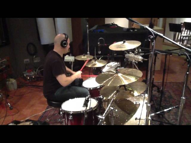 Donny Brown - In The Studio - Recording Drum Tracks (March 11, 2012) - Ann Arbor, MI