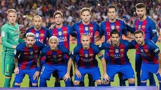 Les plus beaux buts du FC Barcelone - Saison 2016/17