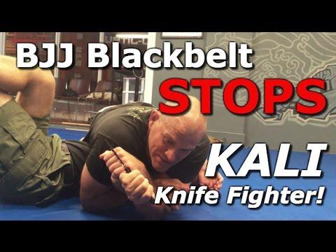 BJJ Blackbelt DESTROYS Kali Knife Fighter! OMG!