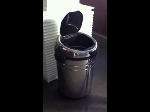 Cubo de basura con sensor youtube - Cubo de basura con sensor ...