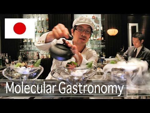 Incredible Molecular Gastronomy in Japan!