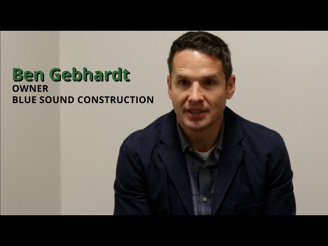 Ben Gebhardt - Blue Sound Construction - PM Basic Training Testimonial