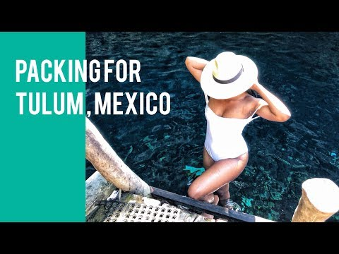 What I Packed For Tulum, Mexico