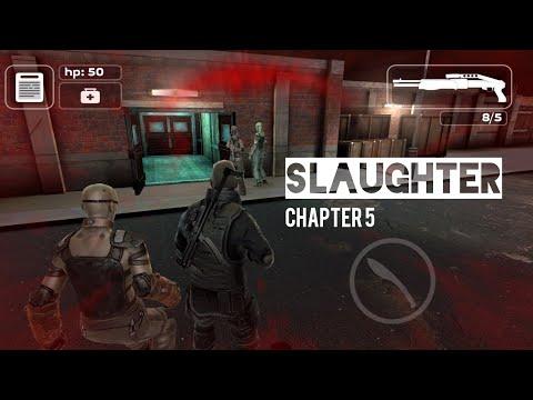 Survival Melawan Zombie - Slaughter Game Offline Android Mirip Resident Evil