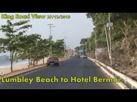 Freetown Sierra leone Beach Road
