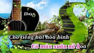 Cháu Thương Chú Bộ Đội - Karaoke HD