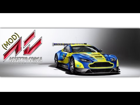 Aston Martin Vantage Gt3 Assetto Corsa Mod By Therealkent