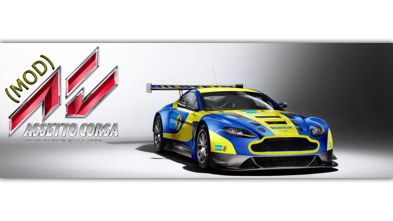 Aston Martin Vantage Gt3 Assetto Corsa Mod Youtube