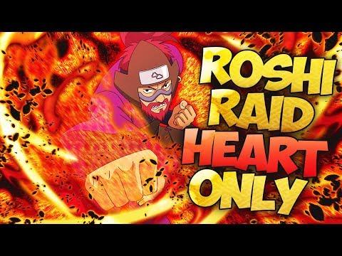 ** ROSHI/SON GOKU RAID (S RANK) HRT ONLY  ** | ** Naruto Ultimate Ninja Blazing *