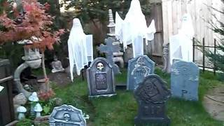 Halloween Yard Decorations 2011