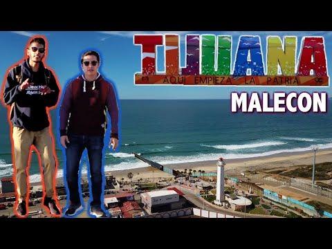 Malecón PLAYAS DE TIJUANA   IN THE SKY *DRONE*   ¿QUE HACER? @EnanoAdventures