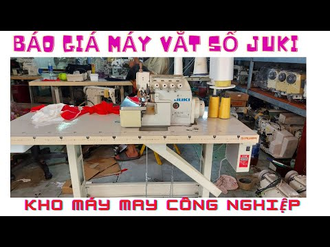 [Tư Vấn] Báo Giá Các Loại Máy Vắt Sổ Juki Mo 2400 - Mo 2500 - MO 6814S - MO 6700