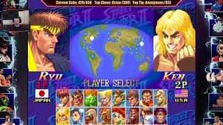 Super Street Fighter 2 Turbo MP: July 19, 2018 pt8 - Chun-Li vs. Vega/Blanka