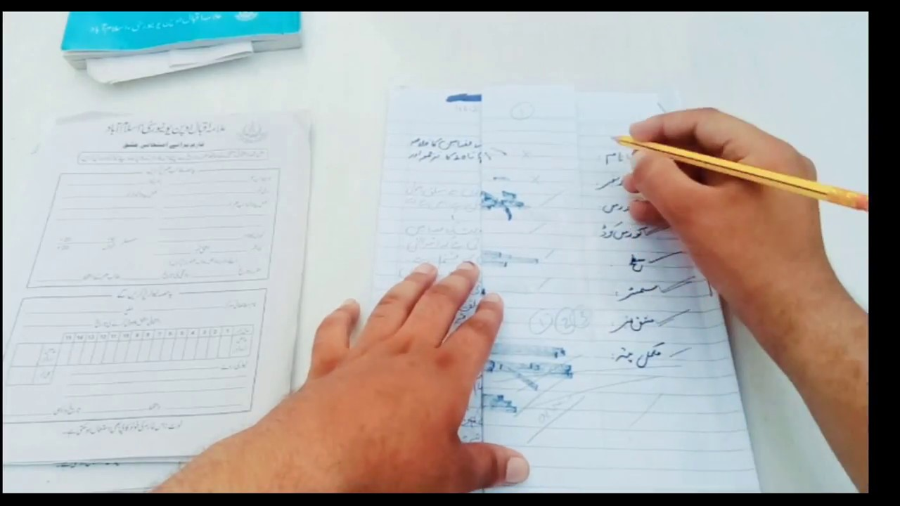 Aiou Complete Method To Solve Assignment