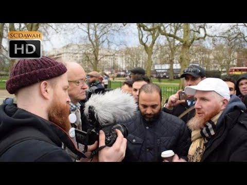 Beat it!! Hamza vs Jewish man | Speakers Corner | Hyde Park