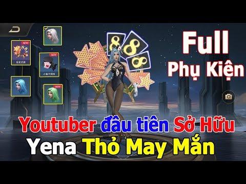 Youtuber đầu tiên Sở Hữu YENA THỎ MAY MẮN 🎁 Full Phụ kiện vũ khí 🗡 Mũ 🎓 Tóc 👩 MAX GỢI CẢM | TNG