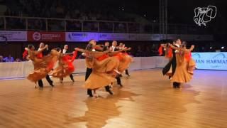 Vera Tyumen Standard Team, RUS | 2016 World Formation Standard | DanceSport Total