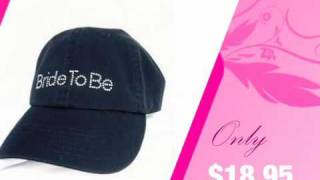 Bride to Be Hat in Choice of Colors - AdvantageBridal.com