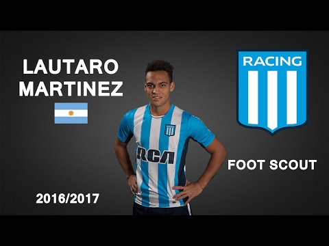 LAUTARO MARTINEZ | Racing | Goals, Skills, Assists | 2017 (HD)