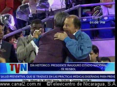 Día histórico: Presidente inaugura Estadio Nacional de Béisbol