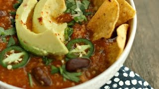 Slow-Cooker Taco Soup w/ Randall Beans