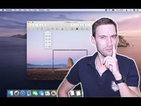 Как редактировать изображения на Apple Mac через Preview (Просмотр)