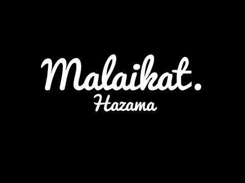Hazama-Malaikat (Lirik)