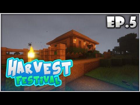 Harvest Festival EP.5 | เป็นชาวนาแบบเต็มตัว!! (Minecraft Harvest Moon)
