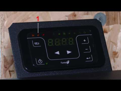 "How to clear alarm ""A003"" on a pellet stove Eco Spar Auriga 25kW"