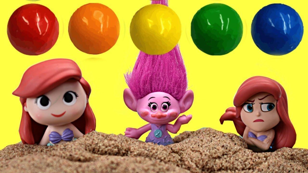 Disney Princess Grumpy Ariel Trolls Poppy Beach Adventure Magical Treasure Hunt