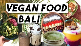 Vegan Food Diary Bali | What I eat in a day | Top 3 Restaurants in Ubud