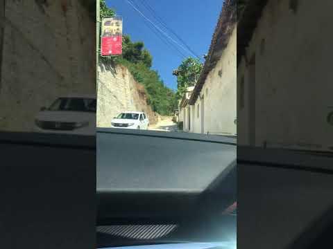 Gjirokastër castle road Peugeot 3008 SUV